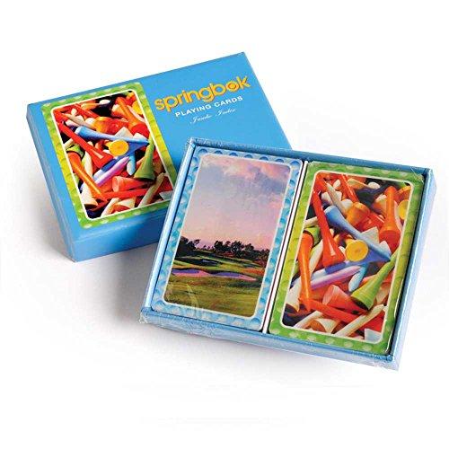 Tee it Up Bridge Jumbo Index Playing Cards