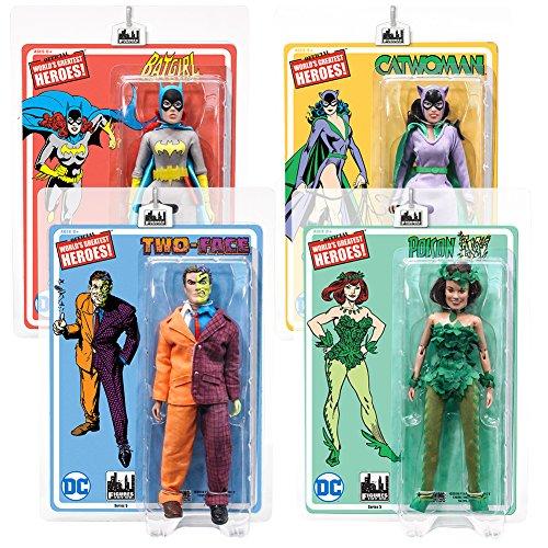 Batman Retro Action Figures Series 5 Set of all 4