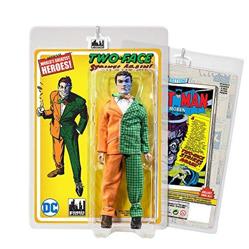 Batman Retro Action Figures Series Two-Face Orange Green Variant