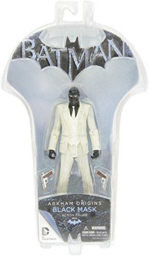 DC Direct Toys Batman Arkham Origins Series 1 Black Mask Action Figure by Diamond Select