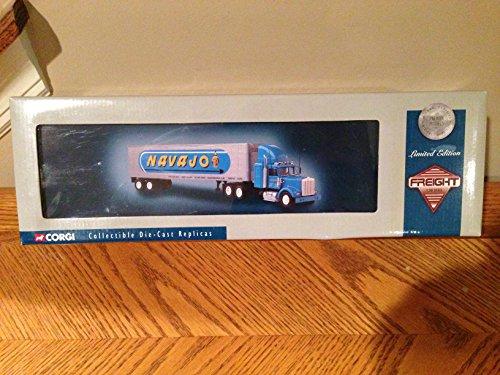 Corgi Diecast 150 Navajo Freight Truck Kenworth W925 Box Container 55802 NIB LE