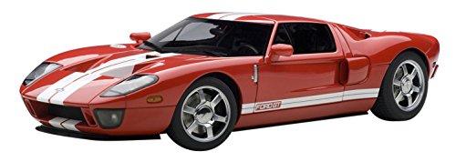2004 Ford GT RedWhite Stripe 118 Autoart Diecast Car Model
