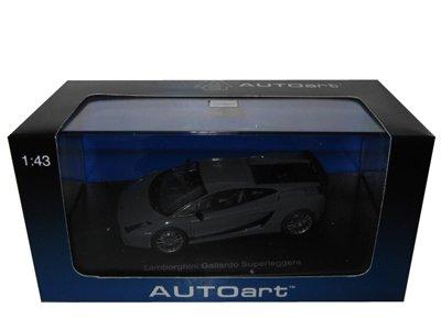 Lamborghini Gallardo Superleggera Grey 143 Autoart Diecast Car Model