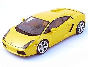 Lamborghini Gallardo Yellow 118 AutoArt Diecast Model Car