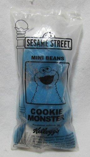 Sesame Street Kelloggs 1999 Mini Bean Bag Cookie Monster Plush Toy by Sesame Street