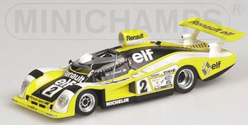 ALPINE RENAULT A 442B DIDIER PIRONIJEANPIERRE JAUSSAUD WINNERS 24H LE MANS 1978 Diecast Model Car in 143 Scale by Minichamps