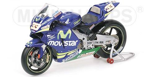 HONDA RC211V MMELANDRI MOVISTAR HONDA Diecast Model Motorcycle in 112 Scale by Minichamps