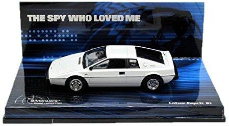 Lotus Esprit S1 The Spy who Loved Me 143 Minichamps Diecast James Bond Car by Minichamps