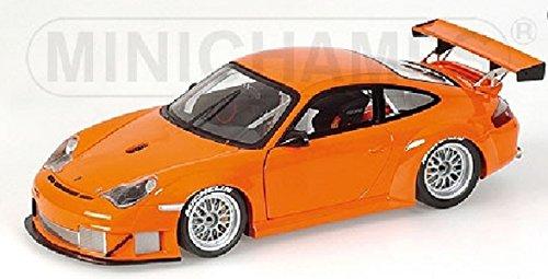 PORSCHE 911 GT3 RSR ORANGE 2004 Diecast Model Car in 118 Scale by Minichamps