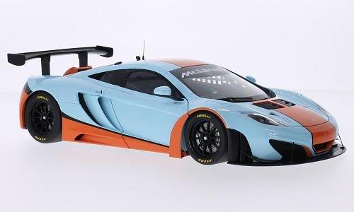 McLaren 12C GT3 Gulf 2012 Model Car Ready-made AutoArt 118