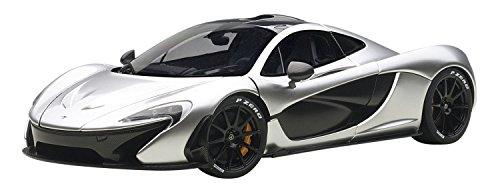 McLaren P1 Matt Chrome 118 by Autoart 76026