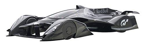 Red Bull X2014 Fan Car Sebastian Vettel Dark Silver Metallic 118 by Autoart 18116
