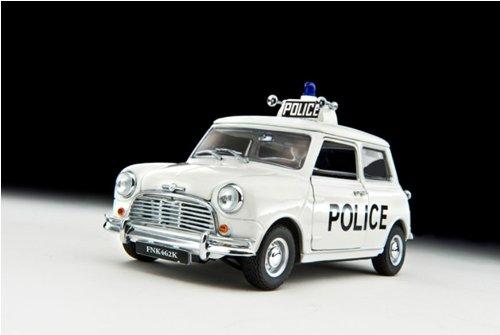 1968 Mini Cooper S Police 118 Kyosho Diecast Model Car