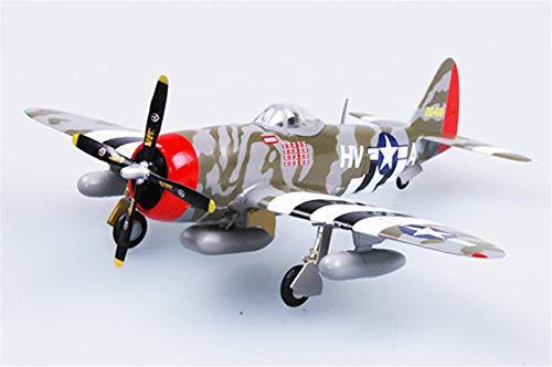 Easy Model WWII US P-47D Thunderbolt 61FS 56FG 172 Non diecast Plane