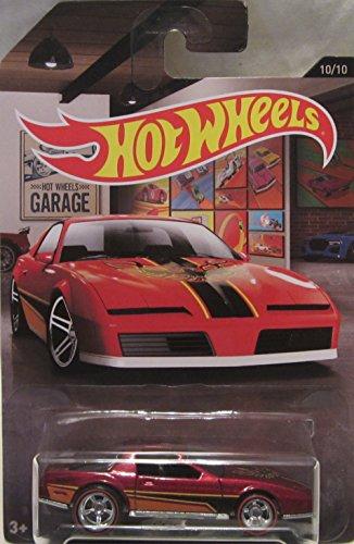 Hot Wheels Garage CUSTOM 80s PONTIAC FIREBIRD Real Riders Rubber Wheels 164 Scale Collectible Die Cast Model Car 1010
