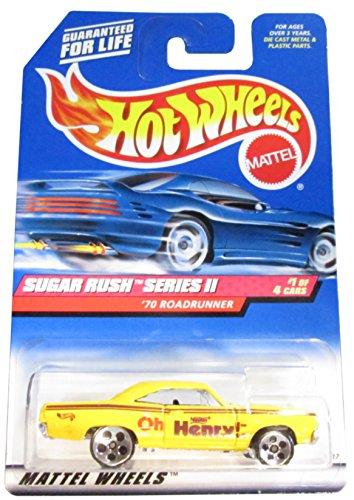 Sugar Rush 2 Series 1 1970 Roadrunner 969 Collectible Collector Car Mattel Hot Wheels