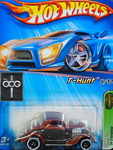 2005 Hot Wheels Treasure Hunt 34 3-Window 126 - T-Hunt 612