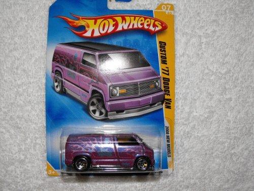 Hot Wheels 2008-007 New Models Custom 77 Dodge Van 164 Scale