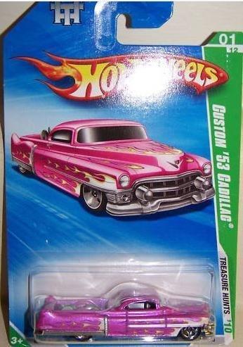 Hot Wheels 2010-045 Custom 53 Cadillac Treaure Hunt Super Treasure Hunt T-Hunts 164 Scale