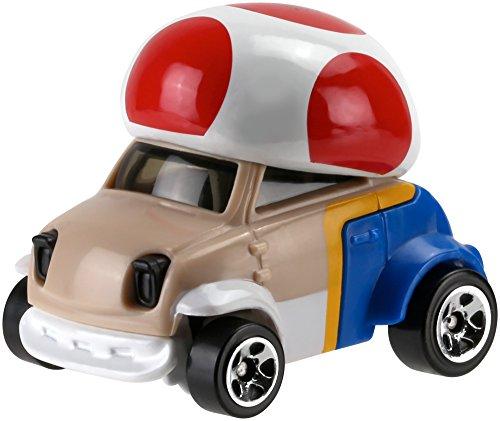 Hot Wheels Hot Wheels Mario Bros Toad Car Vehicle