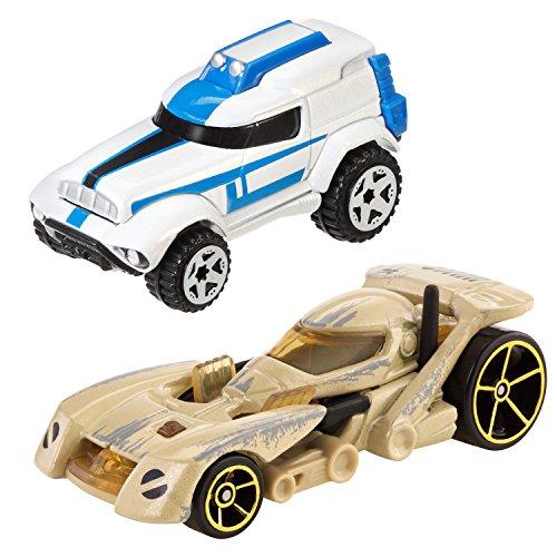 Hot Wheels Star Wars Character Car 2-Pack 501st Clone Trooper vs Battle Droid