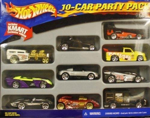 Hot Wheels 10-Car Party Pak 2001