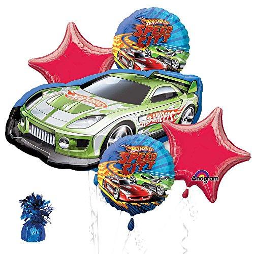 Hot Wheels Party Balloon Kit
