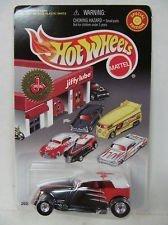 Hot Wheels - Special Edition - Jiffy Lube Signature Service Series - Phaeton - 164 Scale Classic Car Replica Black Orange Body wWhite Top