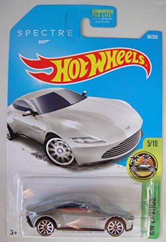 Hot Wheels 2017 HW Exotics James Bond 007 Spectre Aston Martin DB10 Silver 96365