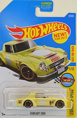 Hot Wheels 2017 Legends of Speed Datsun Fairlady 2000 Yellow 22365