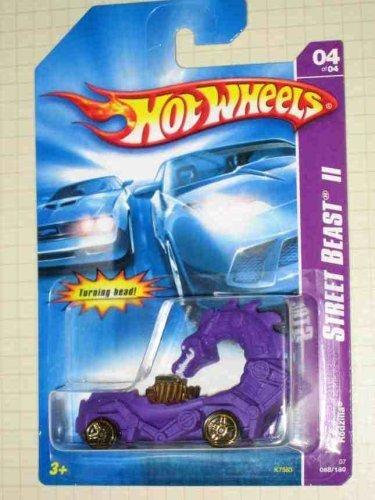 Street Beast 2 Series 4 Rodzilla Purple 2007-68 Collectible Collector Car Mattel Hot Wheels