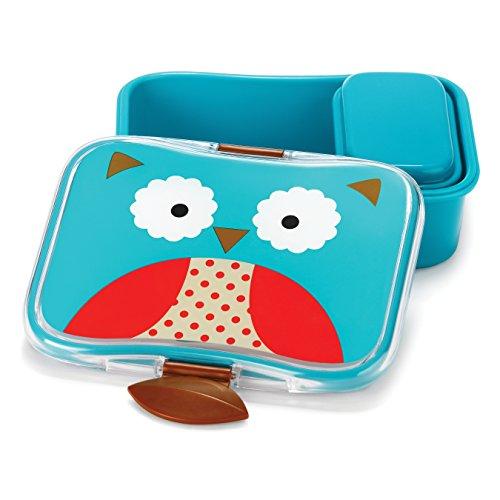 Skip Hop Baby Zoo Little Kid and Toddler Mealtime Lunch Kit Feeding Set Multi Otis Owl