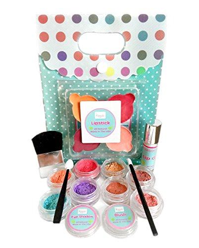 Young Girls Makeup Kit - All Natural Certified Organic Kids Makeup Set