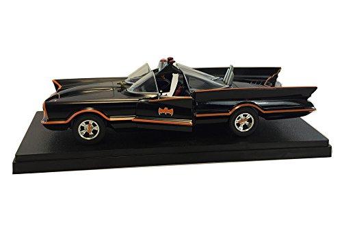 124 Scale 1966 Classic TV Series Batmobile Diecast Model Car