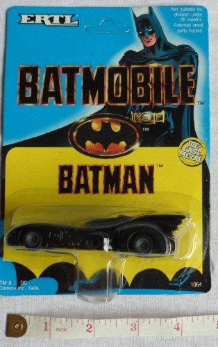 BATMAN 1989 MOVIE VINTAGE BATMOBILE DIECAST by ERTL