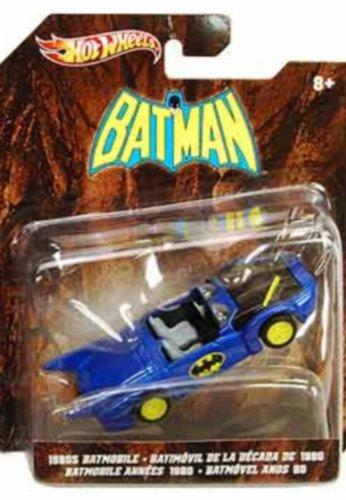 Hot Wheels Batman 1980s Batmobile Diecast Replica by Animewild
