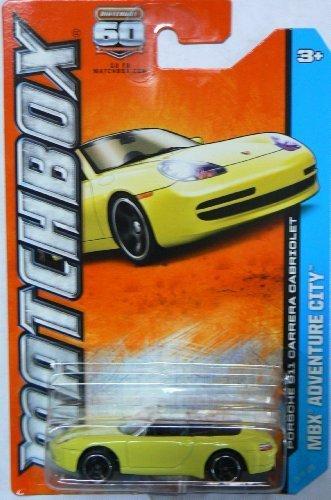 Matchbox Diecast Mbx Adventure City Porsche 911 Carrera Cabriolet by Matchbox
