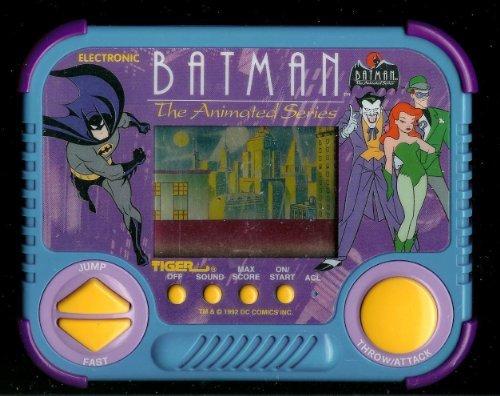 1990s Batman Animated Series Tiger Electronic Handheld Pocket Arcade Video Game