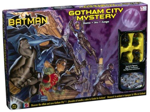 Batman Gotham City Mystery Game