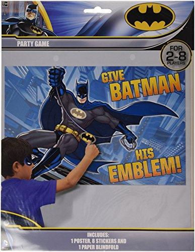 Batman Party Game Party Favor