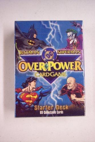BatmanSuperman DC Overpower Card Game Starter Deck