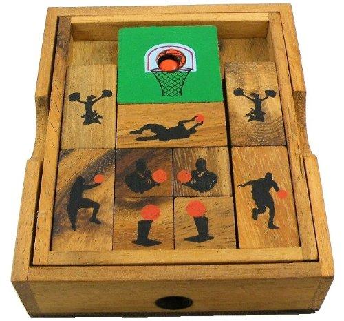 Basketball Court - Wooden Puzzle Brain Teaser
