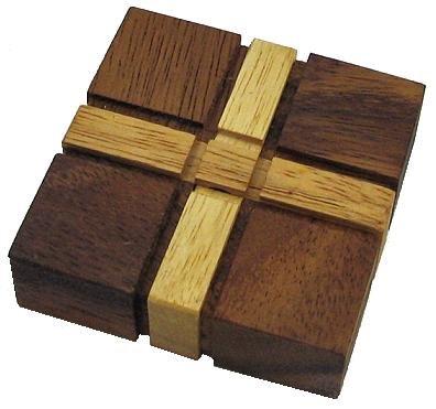 Crisscross Wooden Puzzle Brain Teaser