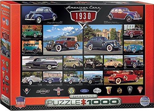 EuroGraphics 1930s Cruisin Classics Jigsaw Puzzle 1000-Piece