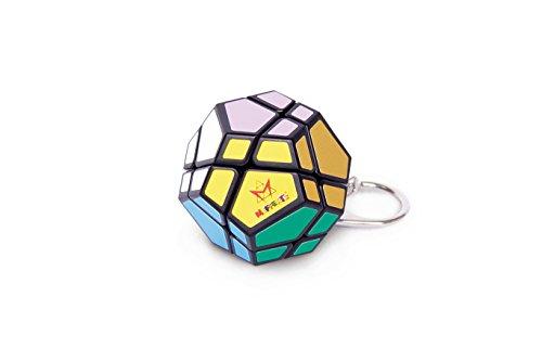 Genuine Mefferts Mini Skewb Brainteaser Rotational Classic Puzzle - Travel Size