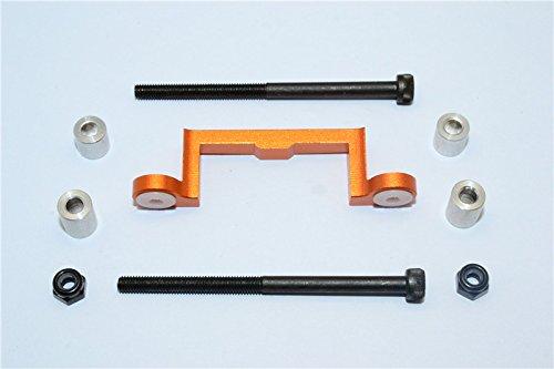 Tamiya Wild Willy 2 Upgrade Parts Aluminum FrontRear Arm Bulk Use With GPMWW2055WW2056 FrontRear Lower Arms - 1Pc Set Orange