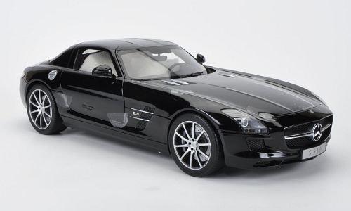 Mercedes SLS AMG Coupe black Model Car Ready-made Premium ClassiXXs 112