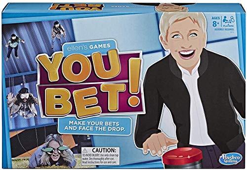 Ellens Games You Bet Game Ellen DeGeneres Challenge For 4 Players Ages 8 Up
