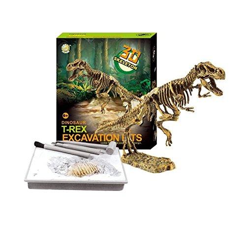 Dinosaur Digging Kit - Science Experiments for Kids - Discover Dinosaur Bones - T-Rex