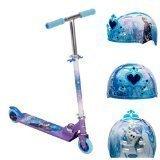 Huffy Disney Frozen Girls Scooter Helmet 2 Piece Combo Set